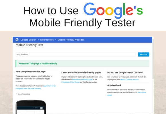 The biggest factor in your websites SEO ranking is now mobile compatibility. In this section you will learn why this is so and how you can use the Google Mobile Friendly Site Tester to see if Your Website can pass the test and meet Google's standards