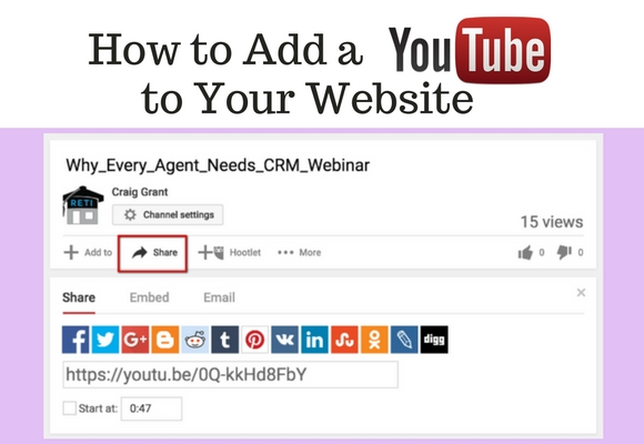 YouTube is the world's largest video hosting site and it makes it very easy to post any video onto your own site using it's sharing options. In this video learn how to do it.